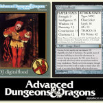 DJ digitalflood AD&D Card