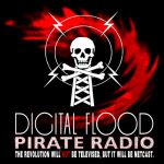 digitalflood Pirate Radio Logo by Abakai