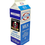 digitalflood Pirate Radio - Missing Milk Carton ad