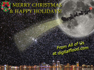 digitalflood Christmas 2009 Greeting