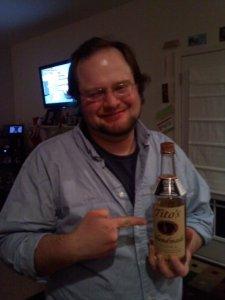 DJ digitalflood and Tito's Vodka - Yeah I didn't get that far.
