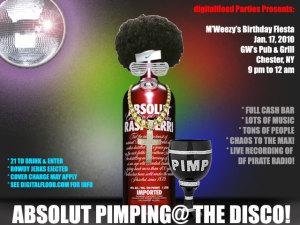 MC Mary @ The Disco's 21st Birthday Party