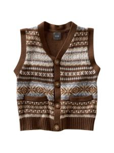 Gap Kids Sweater Vest-- saving the world one child at a time!