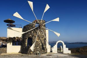 The Cyclades Mill in Greece