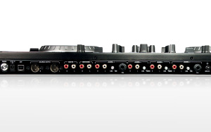 NuMark NS6 Controller Back Ports - Photo provided by NuMark.com