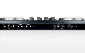 NuMark NS6 Controller Front Ports - Photo provided by NuMark.com