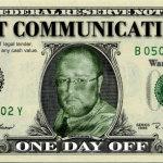 Day Off Dollar