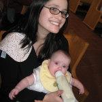Chrissy & Emma - Emma's Baptism at St. Stephen's RC Church (2008)