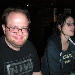 DJ digitalflood & Chrissy