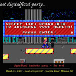 Duke Nukem Power Up - DF Bachelor Party Invite